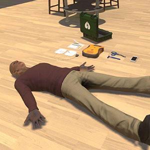 VR Training for Basic CPR with Mannequinn