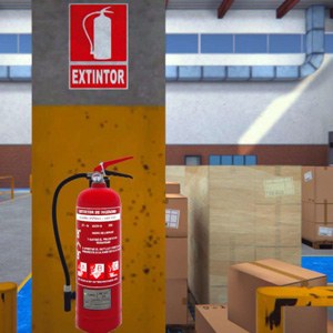 VR Training for Use of Fire Extinguishers