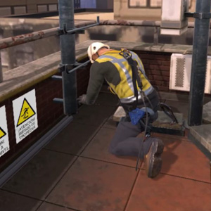 VR Training for Prevention Officer Working at Heights
