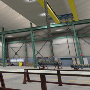VR Training for Overhead Crane Safety